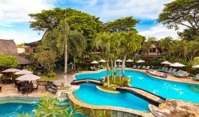 Balis viešbutis baseinas