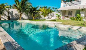 Mauricijus viešbutis baseinas