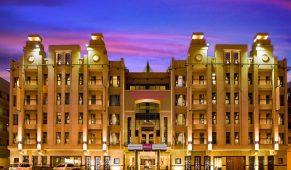 Viešbutis Dubajus fasadas