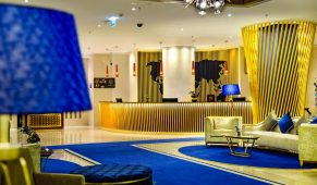 Viešbutis Dubajus fojė