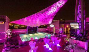 Viešbutis Dubajus baseinas