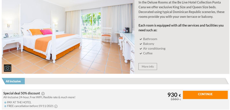 Dominikos Respublika viešbutis