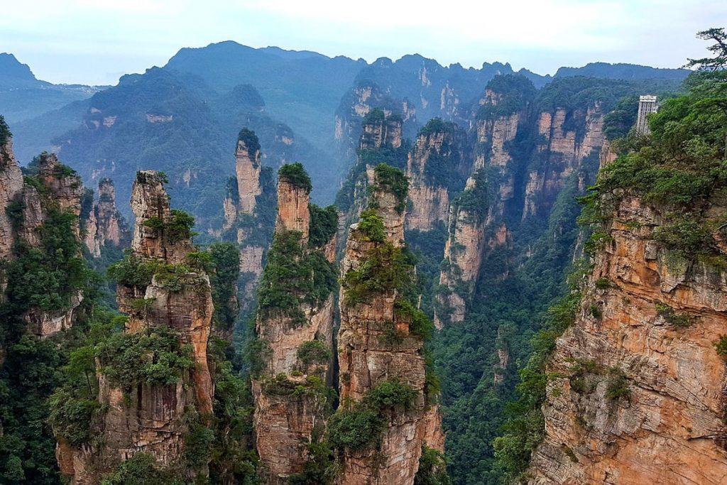 Džangdziadzijės nacionalinio miško parkas