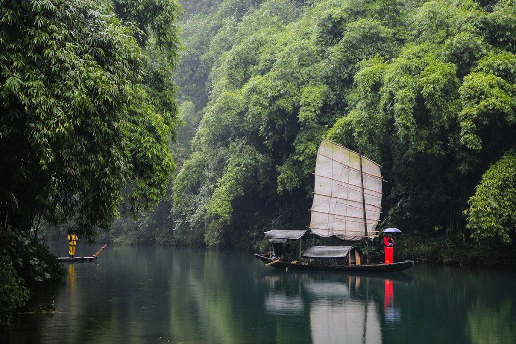 Kruizas Jangdzės upe