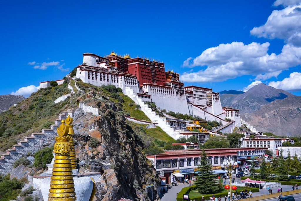Potala rūmai, Tibetas