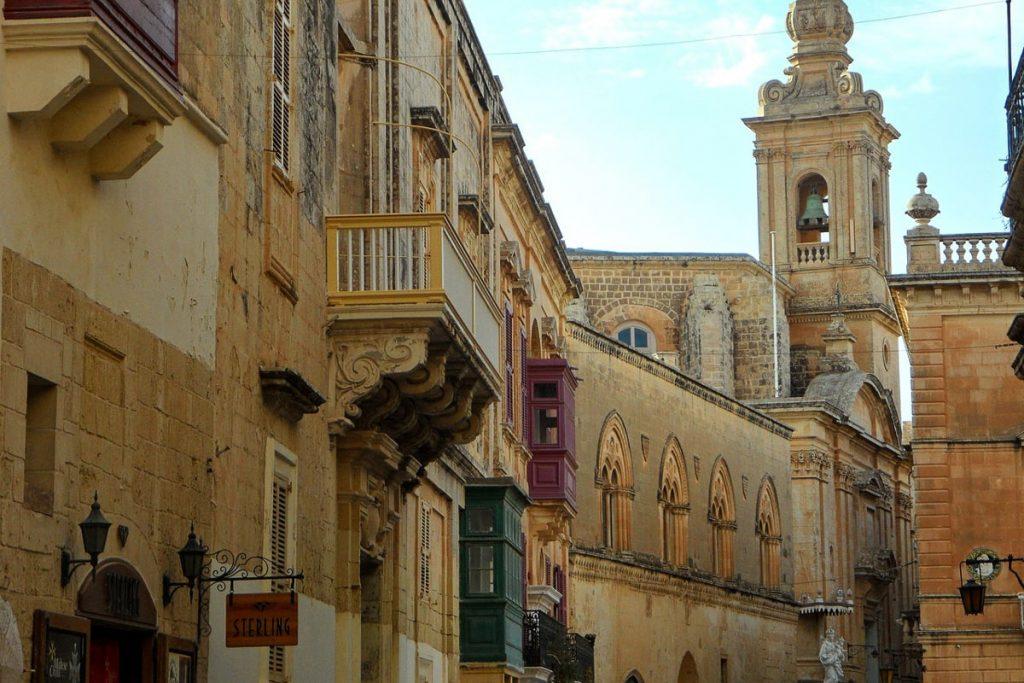 Viduramžių miestas Mdina