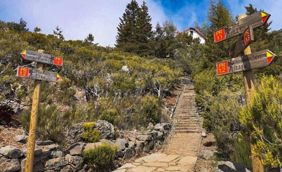 Pico Ruivo viršūnė