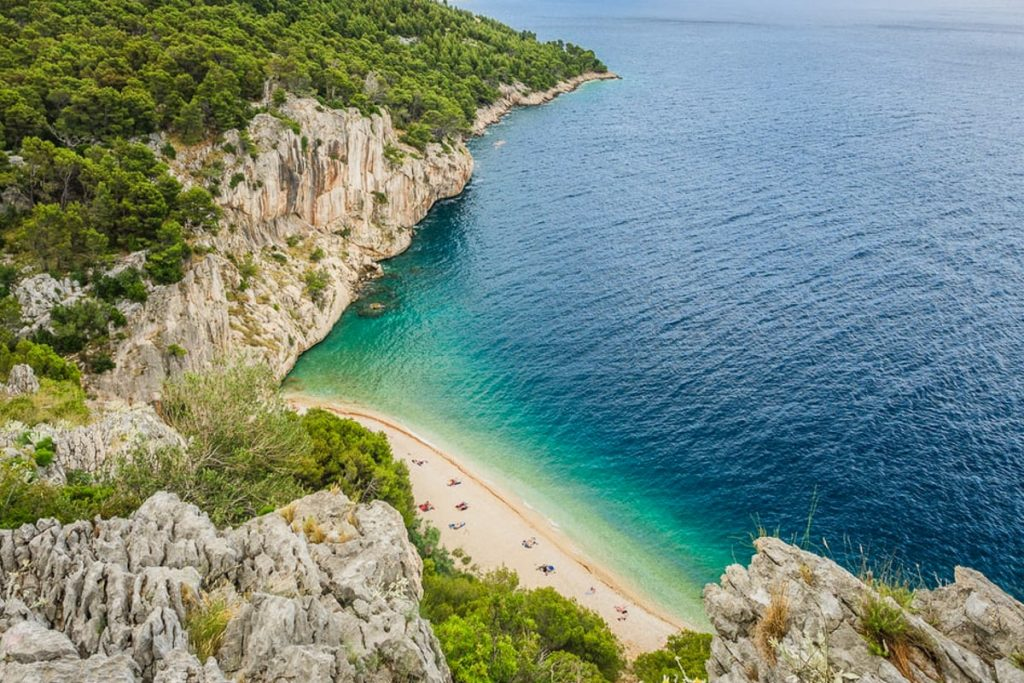 Makarskos paplūdimiai